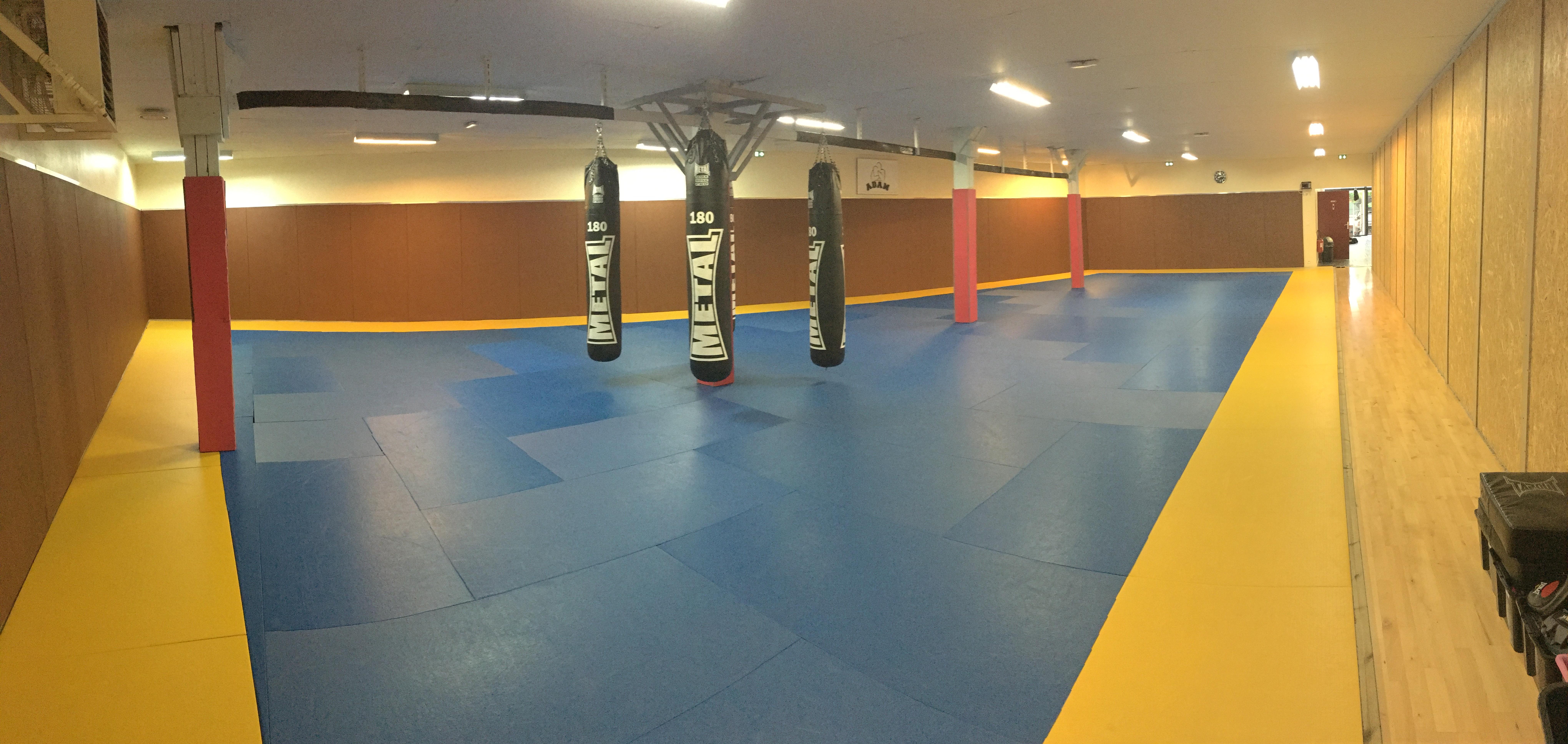 Salle de combat principale