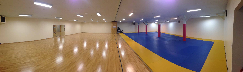 Salle danse & combat réunis